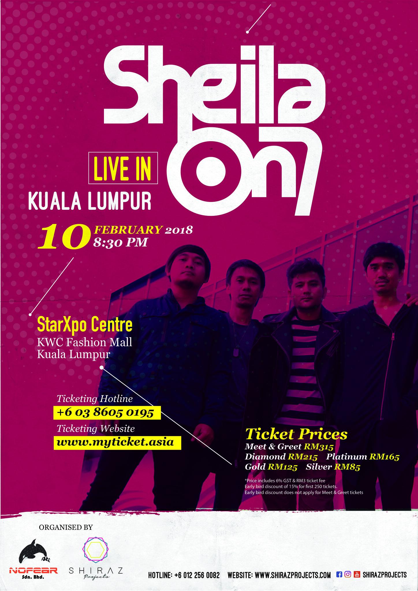 SHEILA ON 7- Live In Kuala Lumpur 2018
