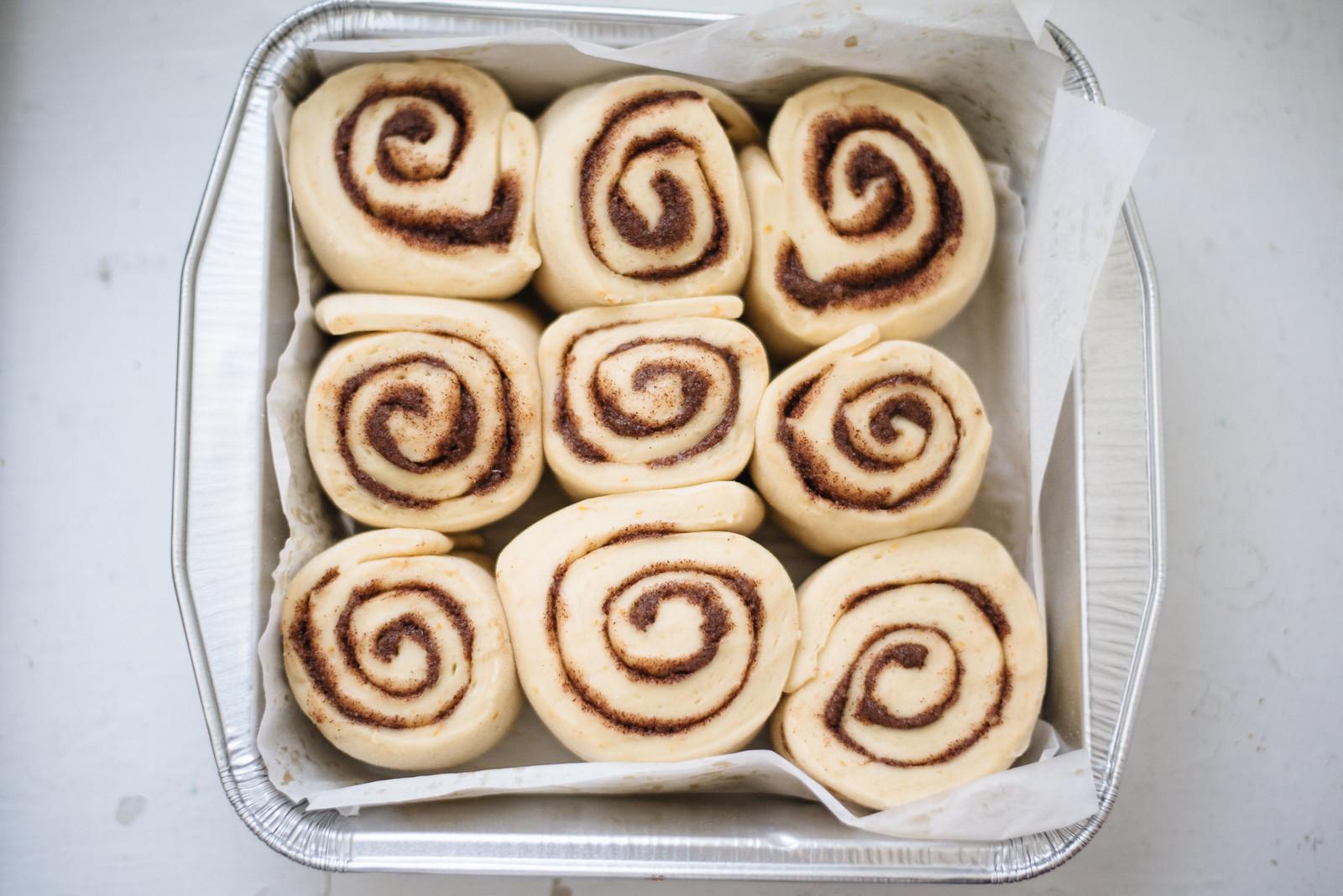 Cinnamon Rolls on juliettelaura.blogspot.com