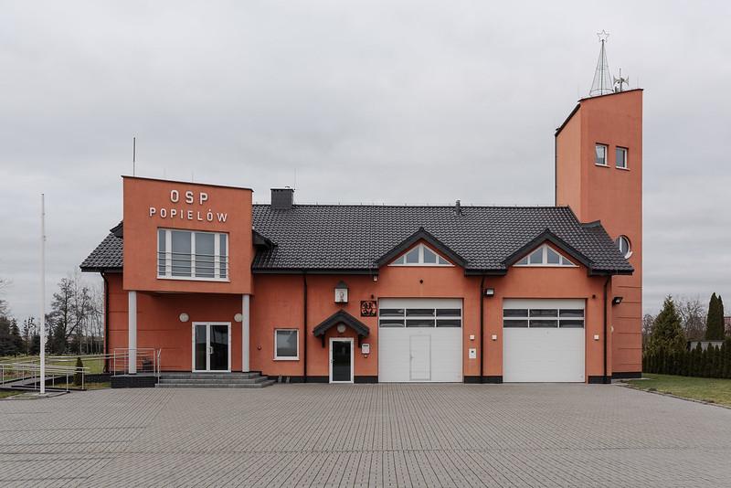 Firestation OSP Popielów/Poppelau, 25.12.2017