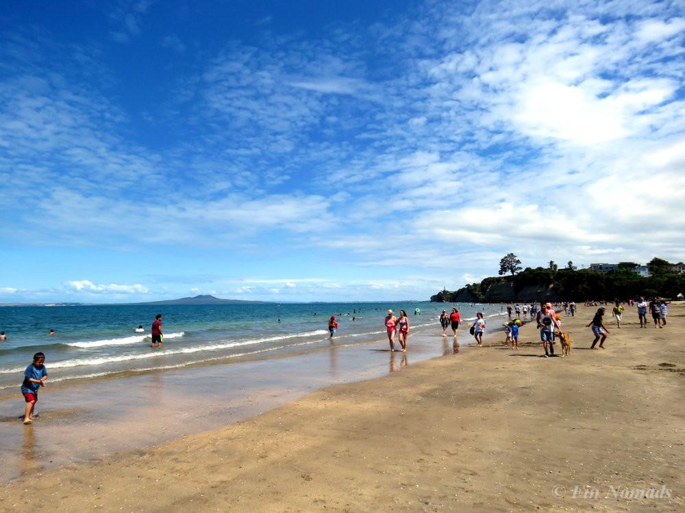 Beach christmas Auckland