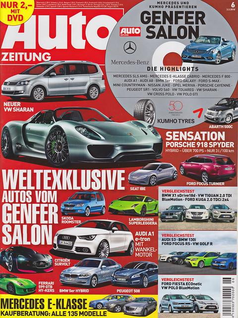 Image of Auto Zeitung 6/2010
