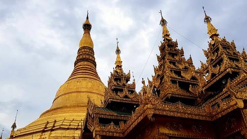 Die Shwedagon-Pagode
