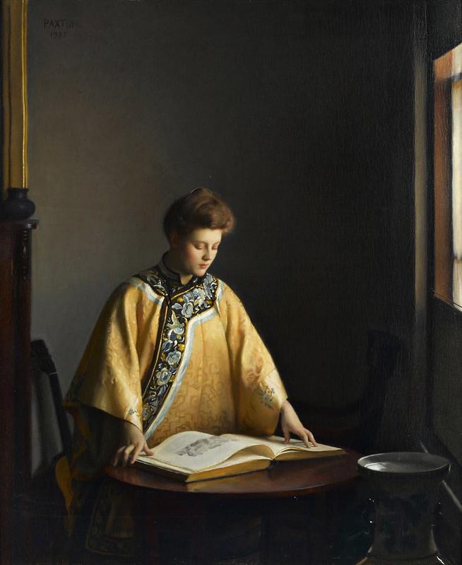 William McGregor Paxton - The Yellow Jacket (1907)