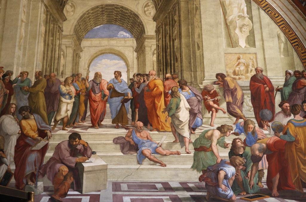 Raffaello Sanzio 1483 1520 Scuola Di Atene 1509 11