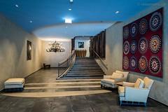 Unterer Eingang zum Hotel