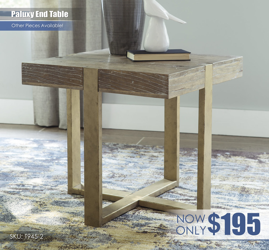 Paluxy End Table T945-2