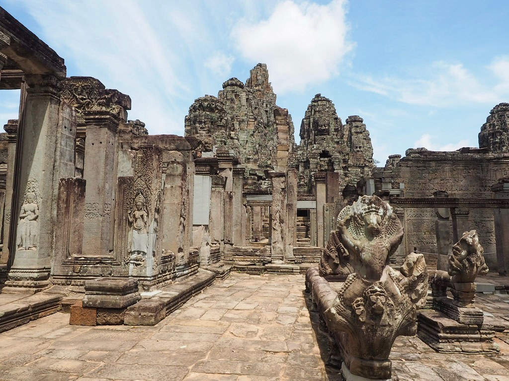 Unesco world heritage Angkor Temples