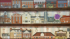 'Our Town' -- Donated to Betty's Restaurant (Sheperdstown (WV) by Gary Widell and Michael Flagstad