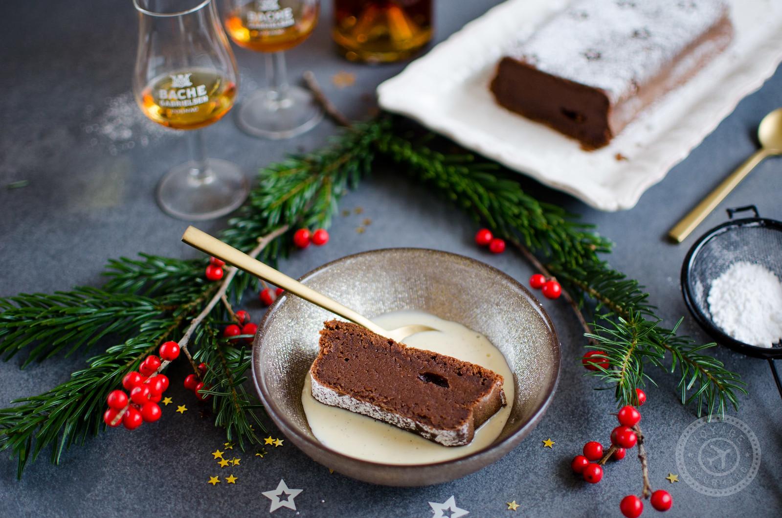 Fondant marrons-chocolat