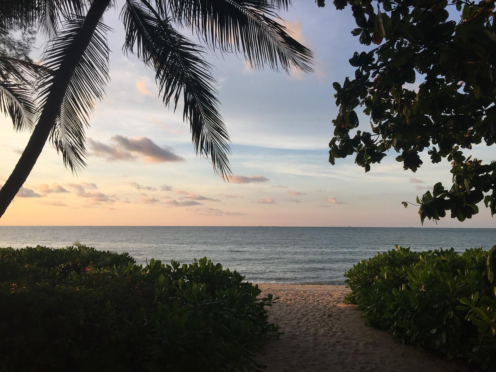 Sunset on Batu Ferringhi Beach