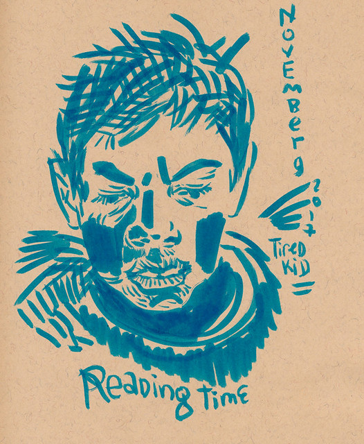 Sketchbook #109: Reading Time