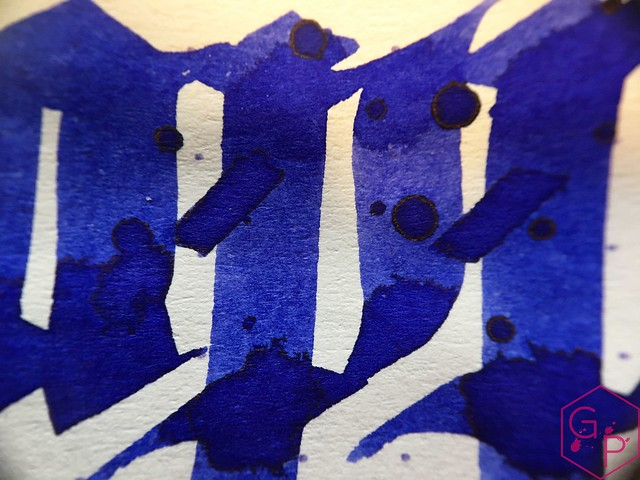Ink Shot Review Diamine Sapphire Blue @BureauDirect 10