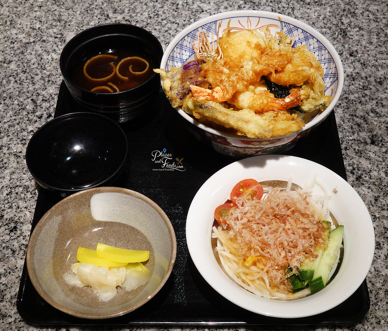 ginza hageten tempura set