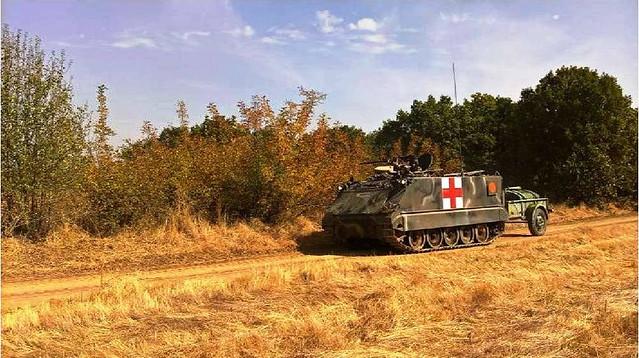 M-113 διακομιδής τραυματιών