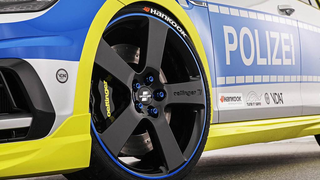 oettinger vw golf r 400 police 02