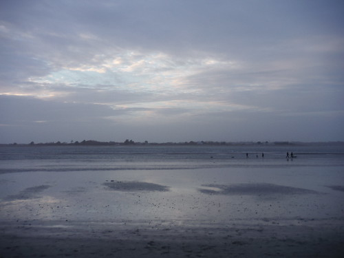 Skyscape with People, West Wittering Beach