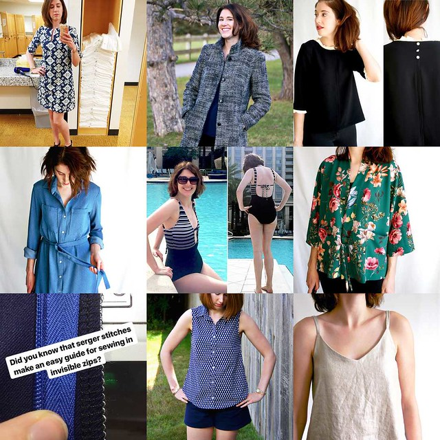 2017 Sewing Review