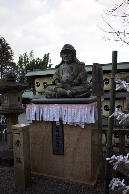 大石神社の大石内蔵助良雄像