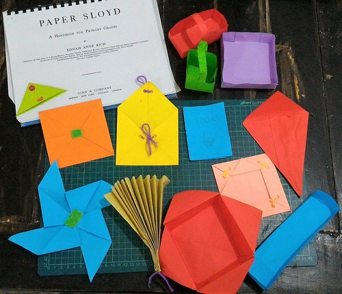 Handicraft # 2: Paper Sloyd