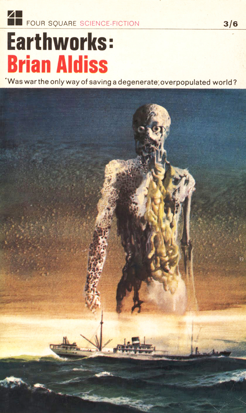 Karel Thole - Cover for Earthworks,  1967