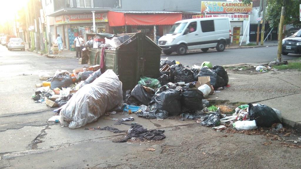 Quilmes recolección de basura