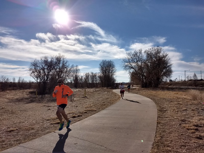 1/7/2018 RMRR 10k along the Platte River (Thornton / Commerce City).