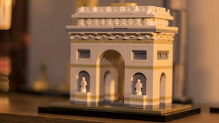 Arc de Triomphe Lego model