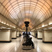 """Barrel vaulted hall at Gants Hill - """"Moscow"""" style. by turini2"""