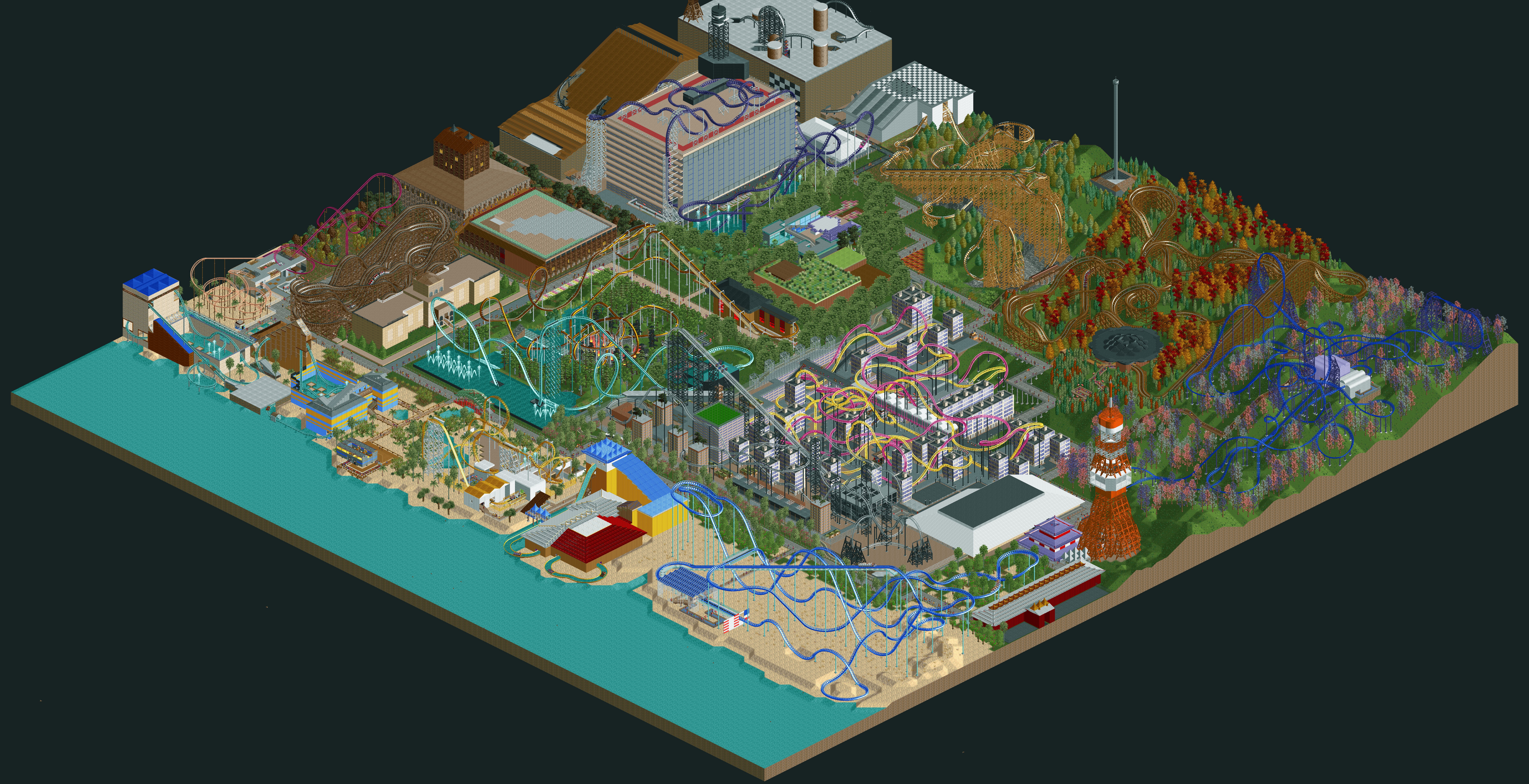 HeartlineCoaster's RCT2 Thread | FORUMS - COASTERFORCE