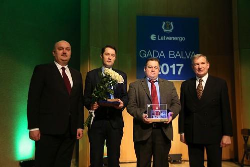Pasniegtas «Latvenergo» un Latvijas Zinātņu akadēmijas balvas