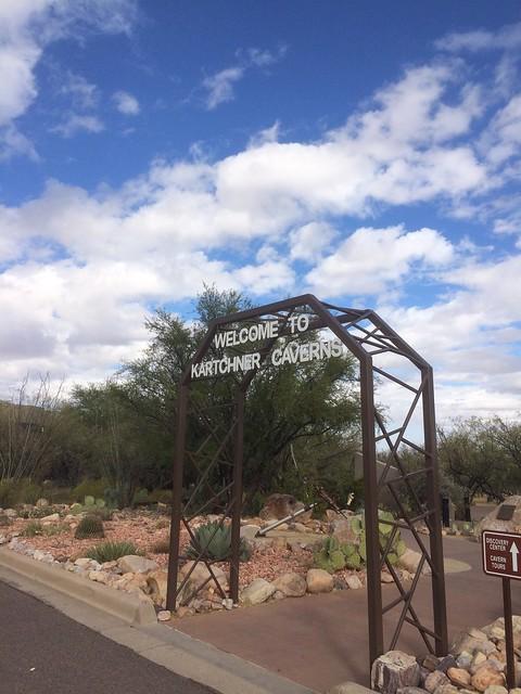 Kartchner Caverns State Park gate