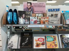 The imaginary bookshelf of Elvis Presley