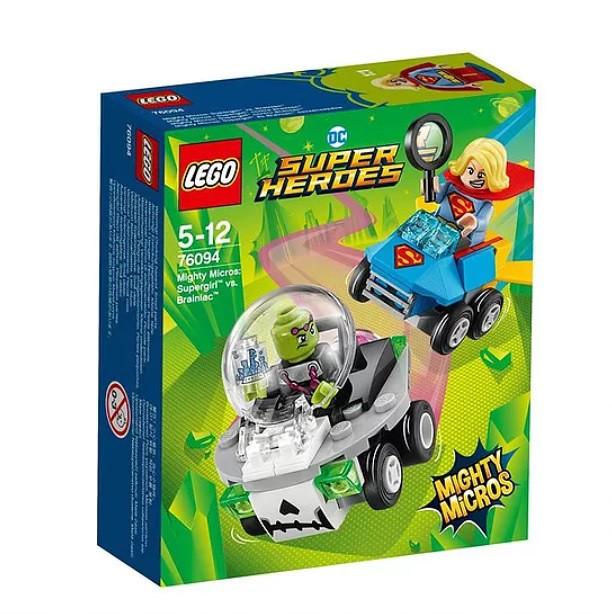 76094 Mighty Micros Supergirl vs. Brainiac