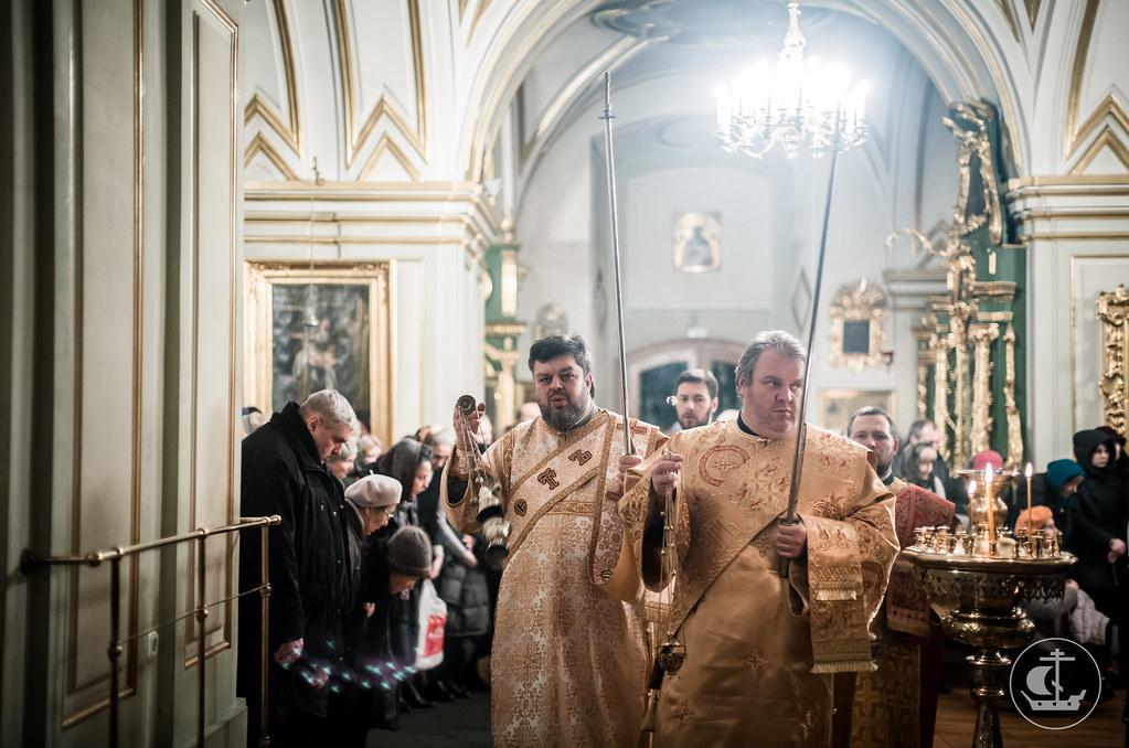 18 декабря 2017, Всенощное бдение в Николо-Богоявленском морском соборе / 18 December 2017, All-Night Vigil in the St. Nicholas Naval Cathedral