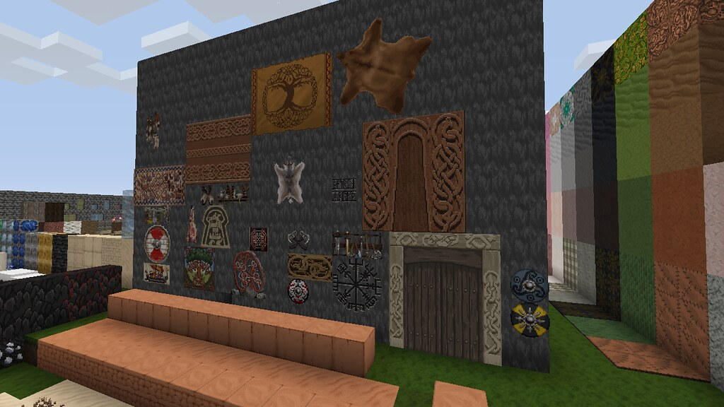 How Minecraft Built Its Tribute To Norse Mythology Available Today