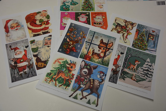 iHanna's Free Christmas Printable - sign up for the Newsletter and download these to print