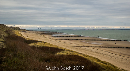 The beach of Zoutelande (NL)