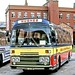 Hughes, Castleford: NBY978P in Blackpool Central Coach Park
