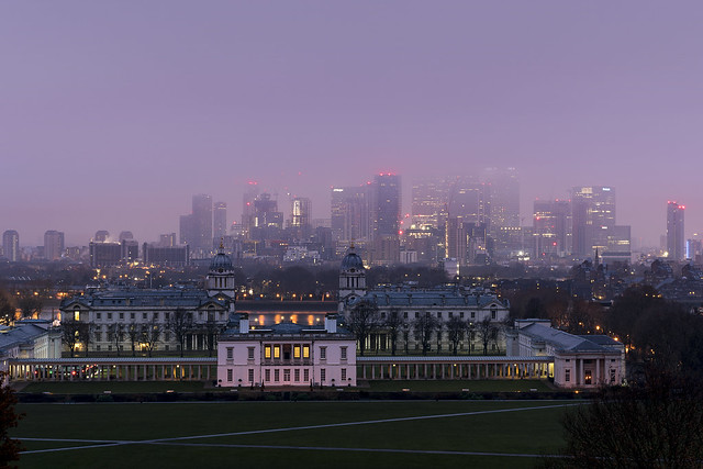 Fog In Greenwich