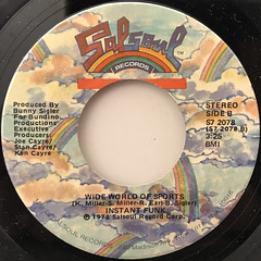 INSTANT FUNK:I GOT MY MIND MADE UP(LABEL SIDE-B)