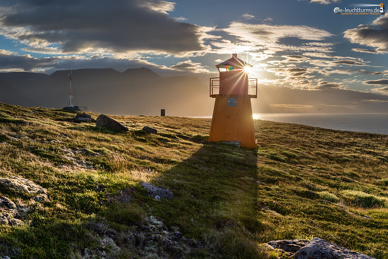 Sunset in the Westfjords
