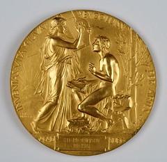 Nobel Prize Literature medal