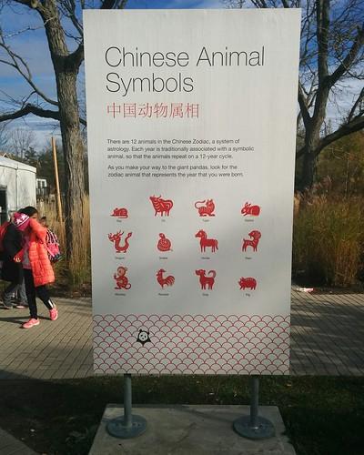Chinese Animal Symbols #toronto #torontozoo #pandas #giantpandaexperience #zodiac #zodiacsigns #china #astrology #chineselanguage #gate #latergram