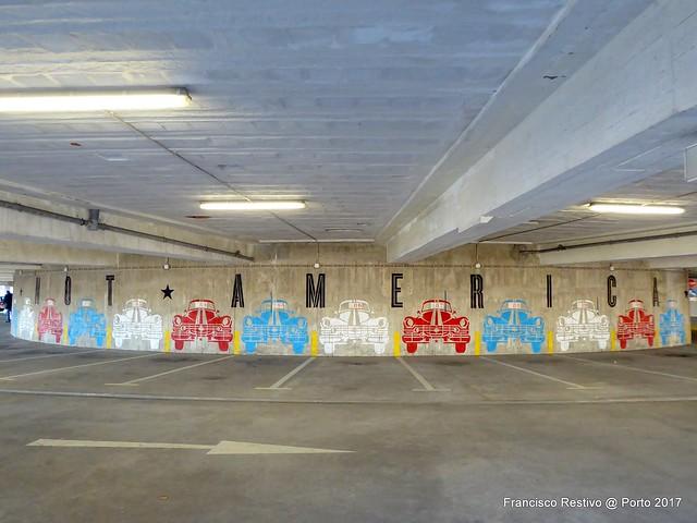 Car park in Porto