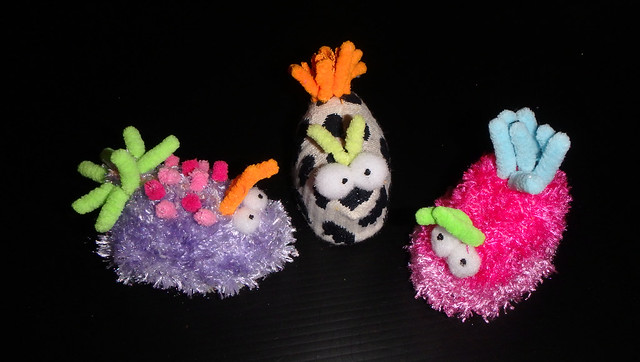 How to make plushie nudibranchs