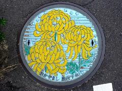 Okayama city Okayama pref, manhole cover 7 (岡山県岡山市のマンホール7)