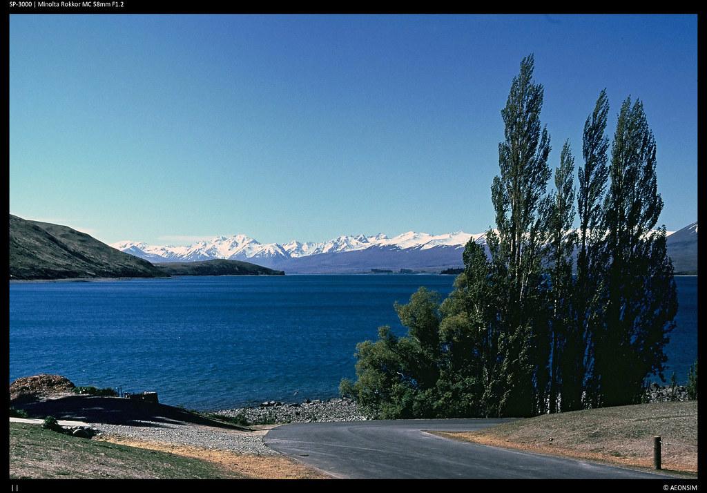 Lake Tekapo Mackenzie Country New Zealand Tripcarta