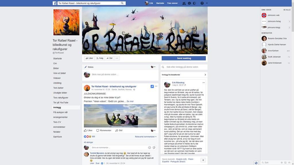 mer fra facebook tor rafael raael 1