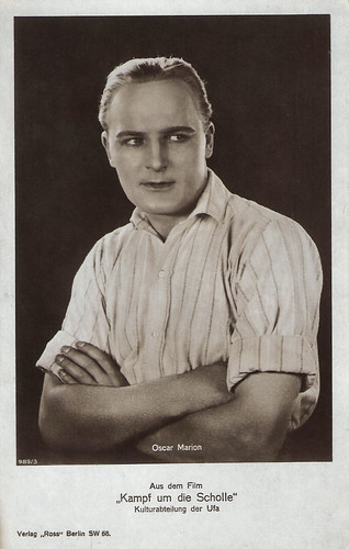 Oscar Marion in Kampf um die Scholle (1925)