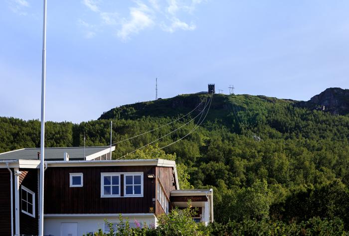 Tromsø Tromssa Fjellheisen Norja Norway Norge pohjois-Norja näköalahissi_